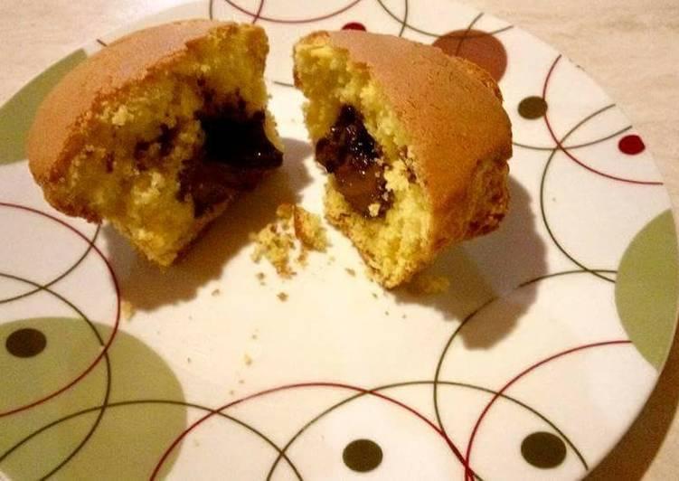 Muffins γεμιστά