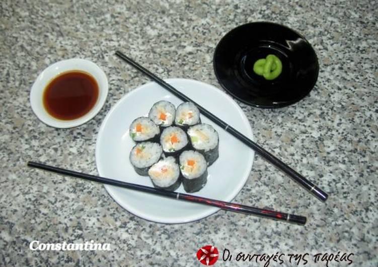 Σπιτικά σούσι!!! (maki sushi)