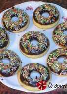 Εύκολα και υγιεινά donuts στο φούρνο