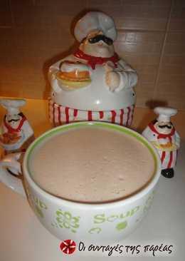 """""""Σούπα"""" σοκολάτας βελουτέ"""