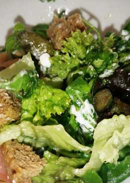 Δροσερή πράσινη σαλάτα
