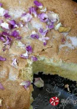 Αφράτο κέικ αμυγδάλου