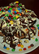 Γρήγορη τούρτα με cookies παγωτίνια. Πιο εύκολη... πεθαίνεις
