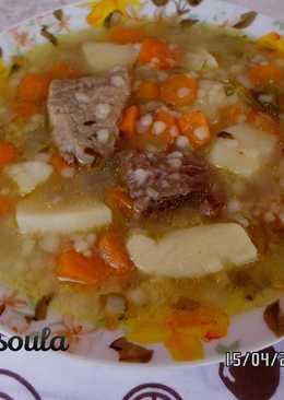 Μοσχάρι σούπα της Μαριέττας