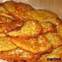 Картофельные драники с сыром и чесноком