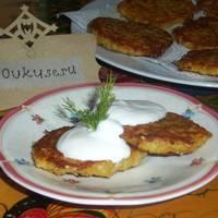 Рецепт приготовления драников (картофельные оладьи)