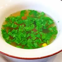 #суп с овощной смесью🥘