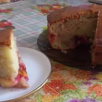 Сливы + яблоки + немного перца = сладкий пирог (вкусный и ароматный)