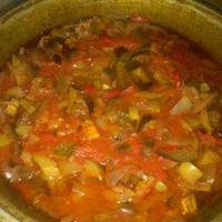Салат на зиму из баклажан и огурцов #заготовки