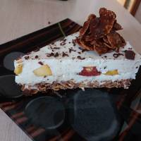 Творожный торт Пломбир без выпечки