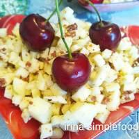 Диетический яблочный десерт