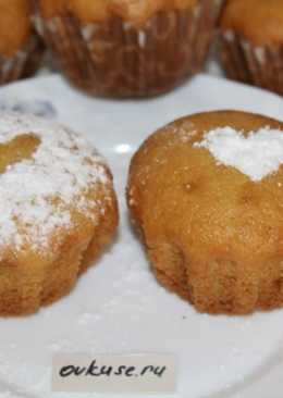 Воздушные кексы без сливочного масла