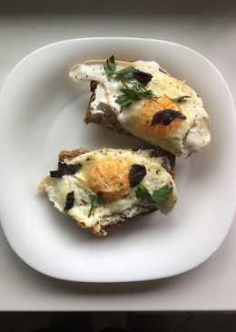 Быстрый завтрак/перекус с яйцом