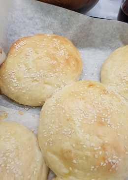 Пышные булочки для бургеров