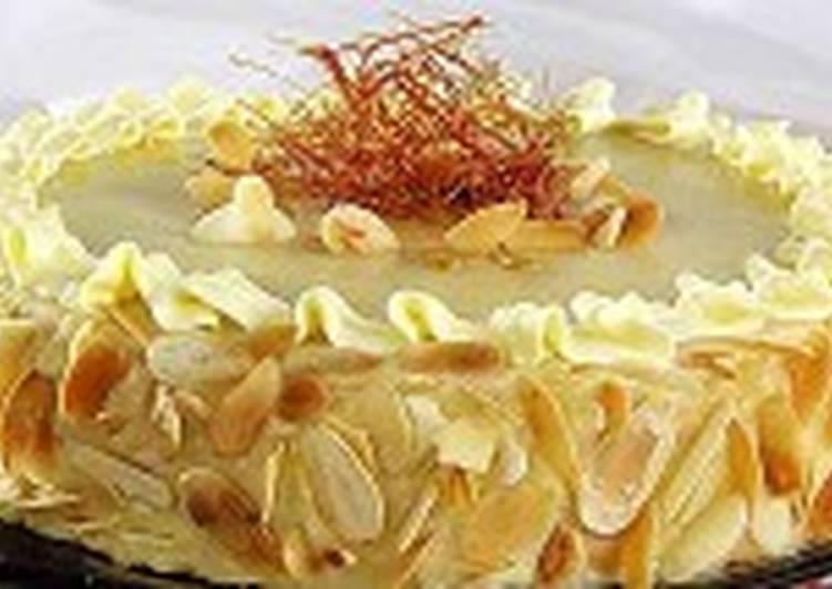 Кофейный торт с имбирем