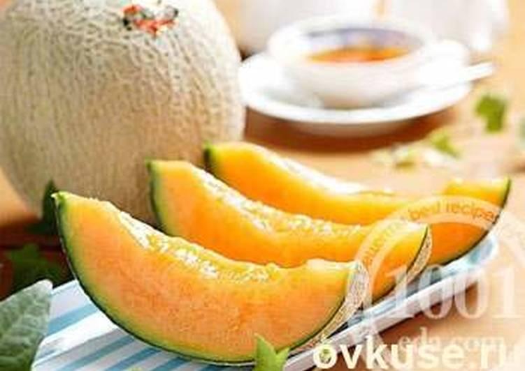 рецепт дыни с лимоном на зиму в сиропе