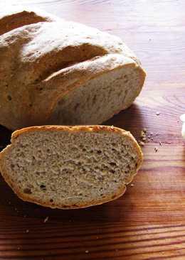 Хлеб деревенский из трёх видов муки