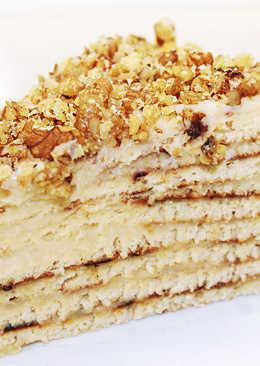 Торт на сковороде - Простой и вкусный рецепт