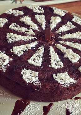 Шоколадно-вишневый пирог на завтрак «Ешь и худей»
