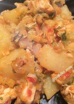 Картофель по-французски на сковородке
