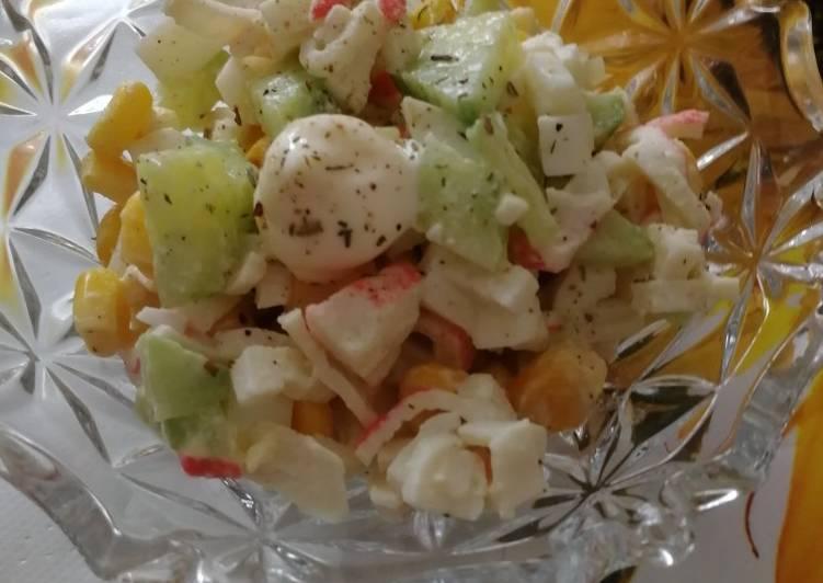 капитанский салат рецепт