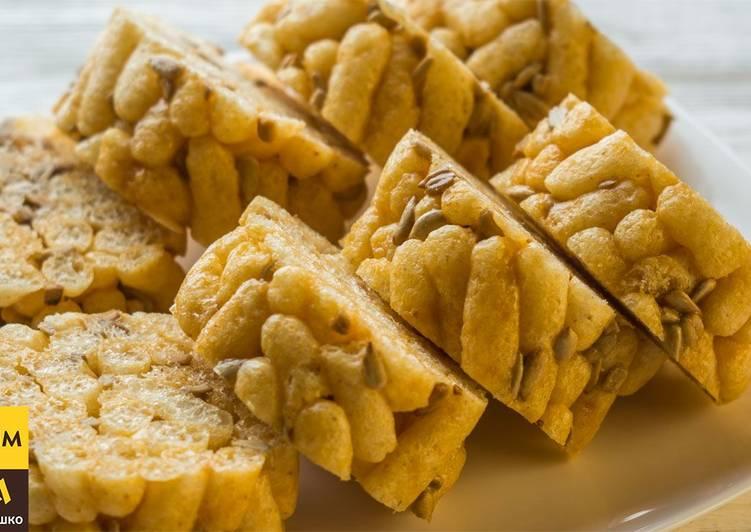 Десерт из кукурузных палочек