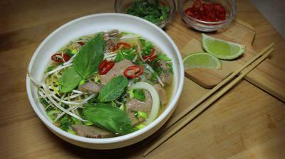 Вьетнамский суп Фо-бо (Pho Bo)