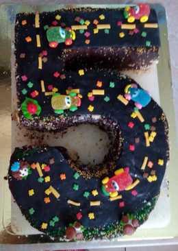 Тортик на 5 лет внуку