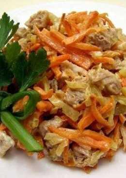 Салат «Обжорка» рецепт