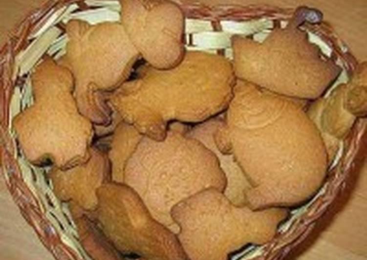 Постное пряное печенье