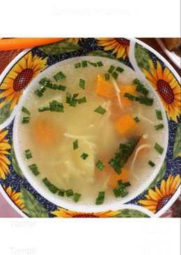 Сытный суп-лапша из баранины (легкий и быстрый)