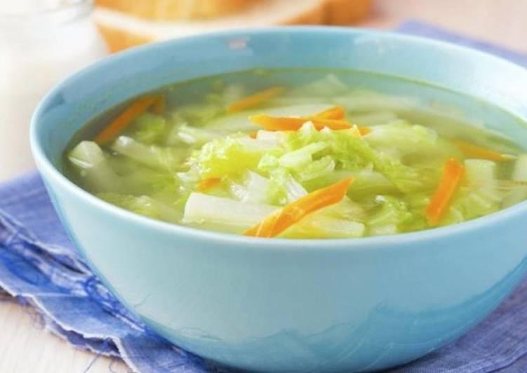 Ребенку суп из белокочанной капусты рецепты