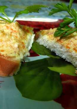 Бутерброды с «красной икрой» по-студенчески