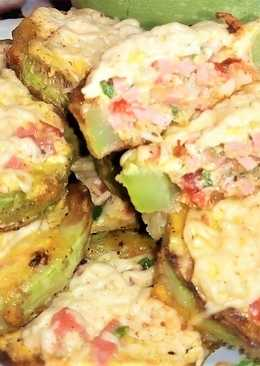 Рецепт мини пиццы из кабачка