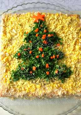 """Закусочный торт """"Застольный"""". Идеальная закуска на Новогодний стол"""