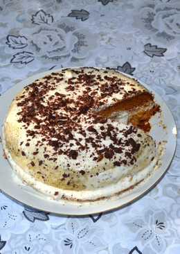 """Торт """"Медовик"""", просто и вкусно. Очень вкусный десерт к чаю"""