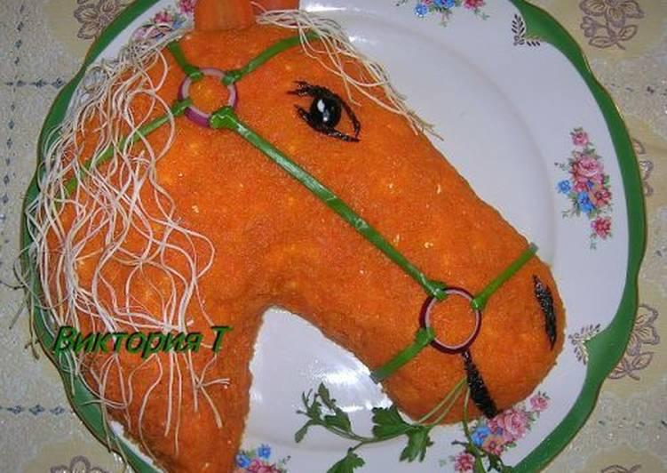"""Салат """"Рыжий конь"""""""