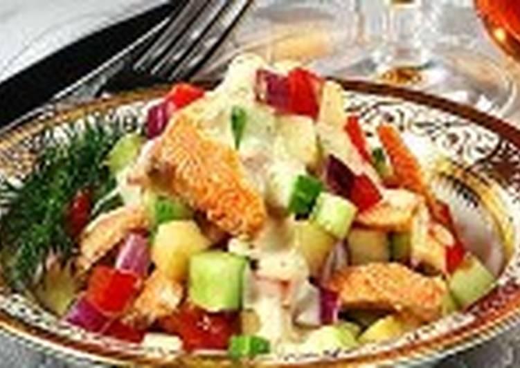 Салат с форелью (2)