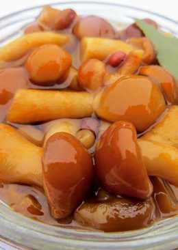 Как замариновать замороженные грибы (опята) к Новогоднему столу