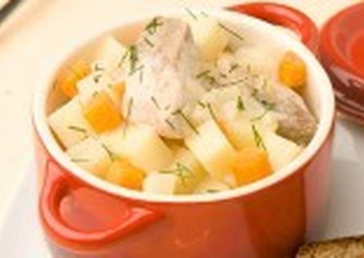 Горбуша с морковью и картофелем по-домашнему