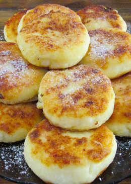 Ну, очень вкусные, сырники из творога на сковороде