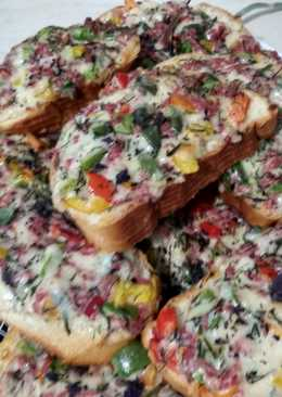 Пицца-бутерброды