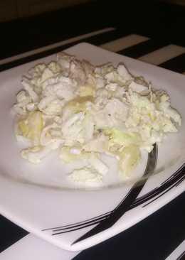 Салат с курогрудкой и ананасом