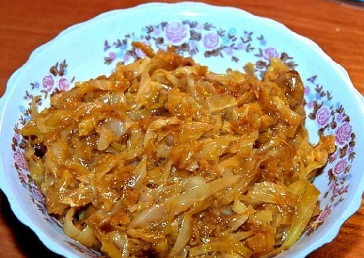 Рецепт капуста по чешски