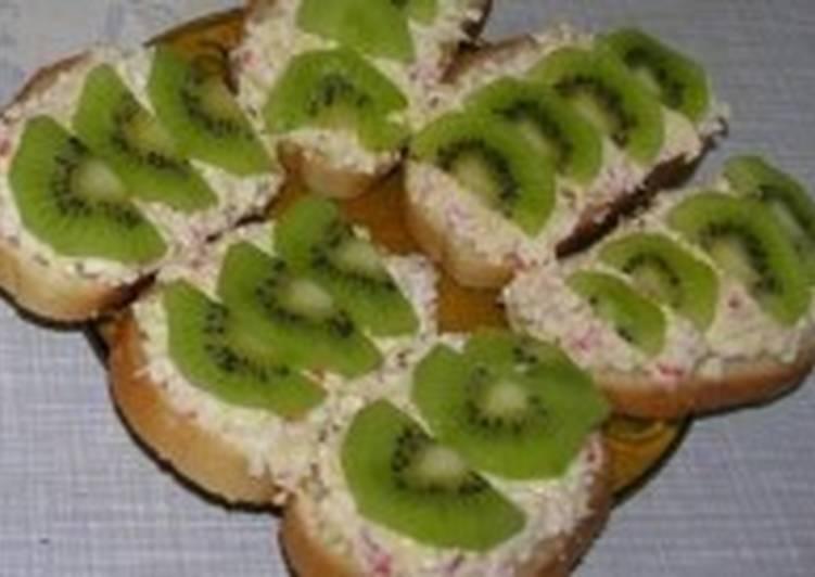 бутерброды с киви рецепты