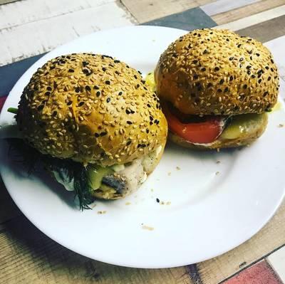 Гамбургеры домашние со свининой