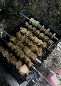 Шашлык из куриного филе или свинины #кулинарнымарафон