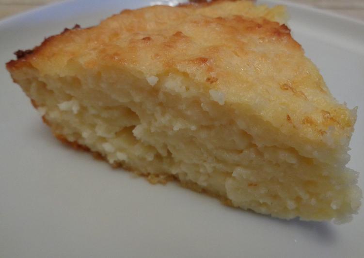 простой рецепт рисово-творожной запеканки