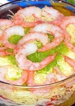 Диетический морской салат