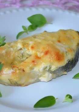 Рыба горбуша, запеченная в духовке, рецепт